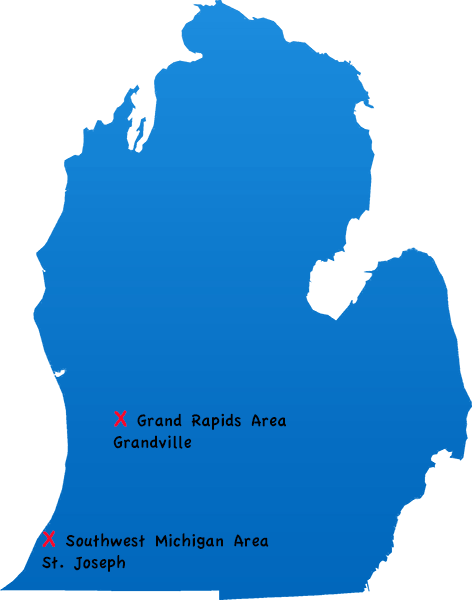 Michigan Locations in Grand Rapids and St.Joseph